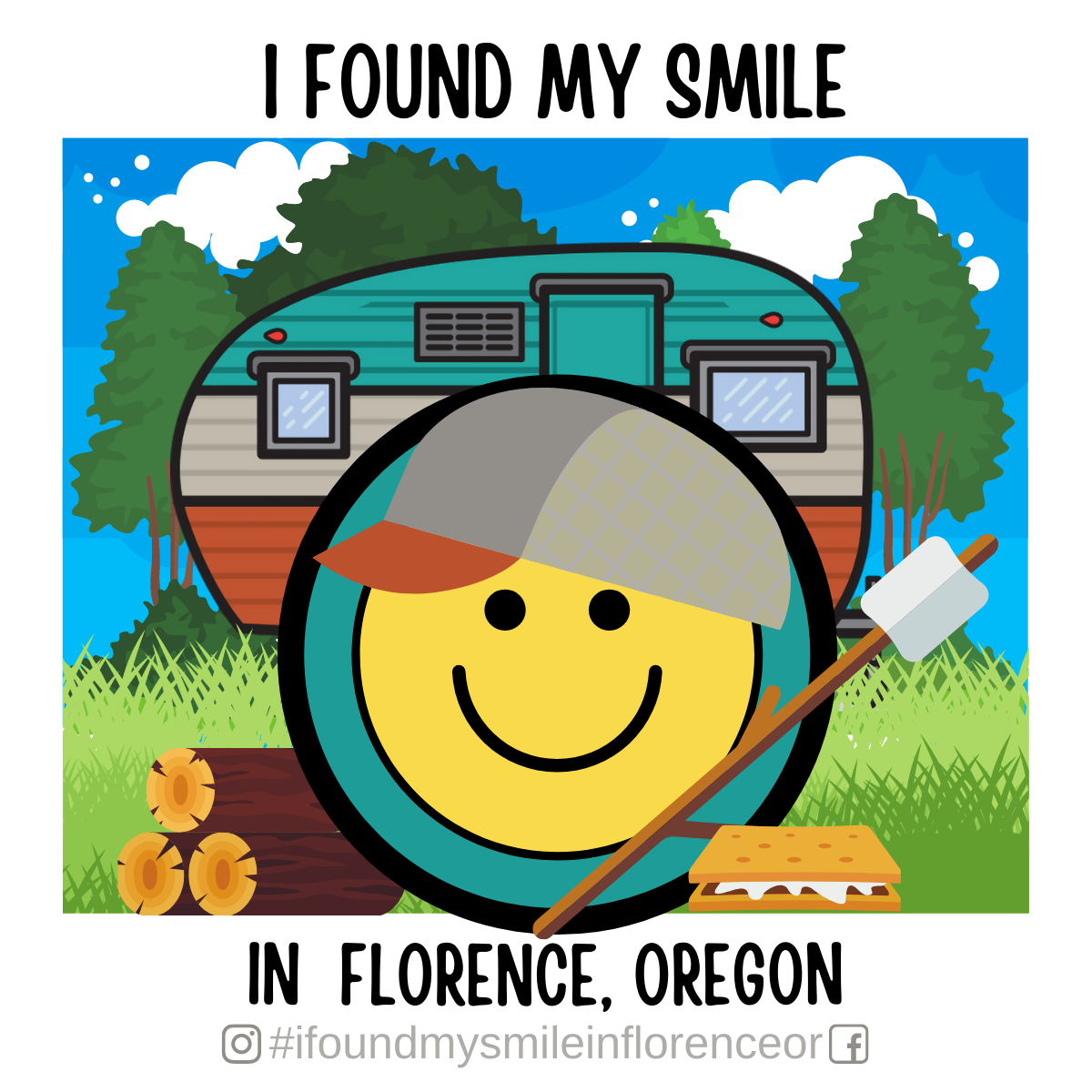 Sandy the Sticker – FREE Sign up form for all Florence Businesses and Organizations.