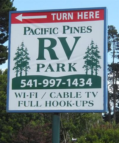 PACIFIC PINES RV PARK AND STORAGE