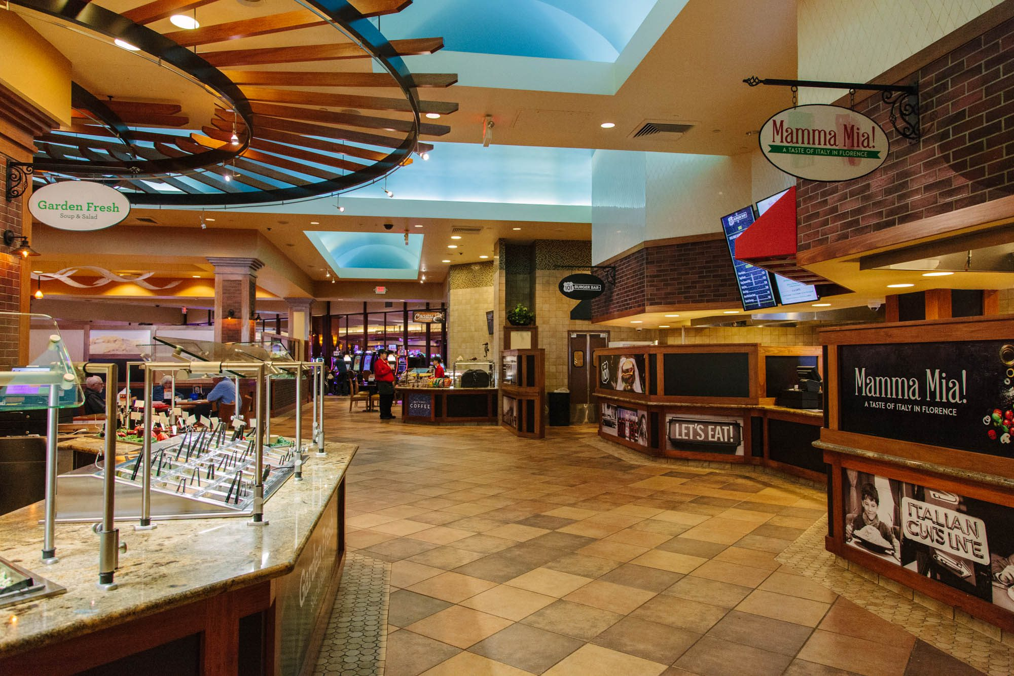 Grand Opening and Ribbon Cutting at the New Three Rivers Casino Food Court