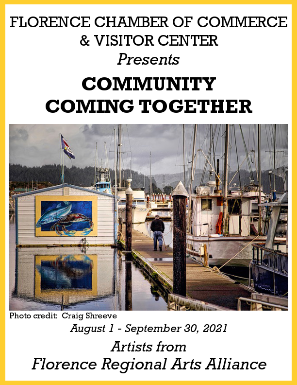 FLORENCE REGIONAL ARTS ALLIANCE IS AUGUST'S FEATURED EXHIBITOR AT CHAMBER'S VISITOR CENTER