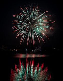 FLORENCE UNABLE TO IGNITE FIREWORKS PLANS