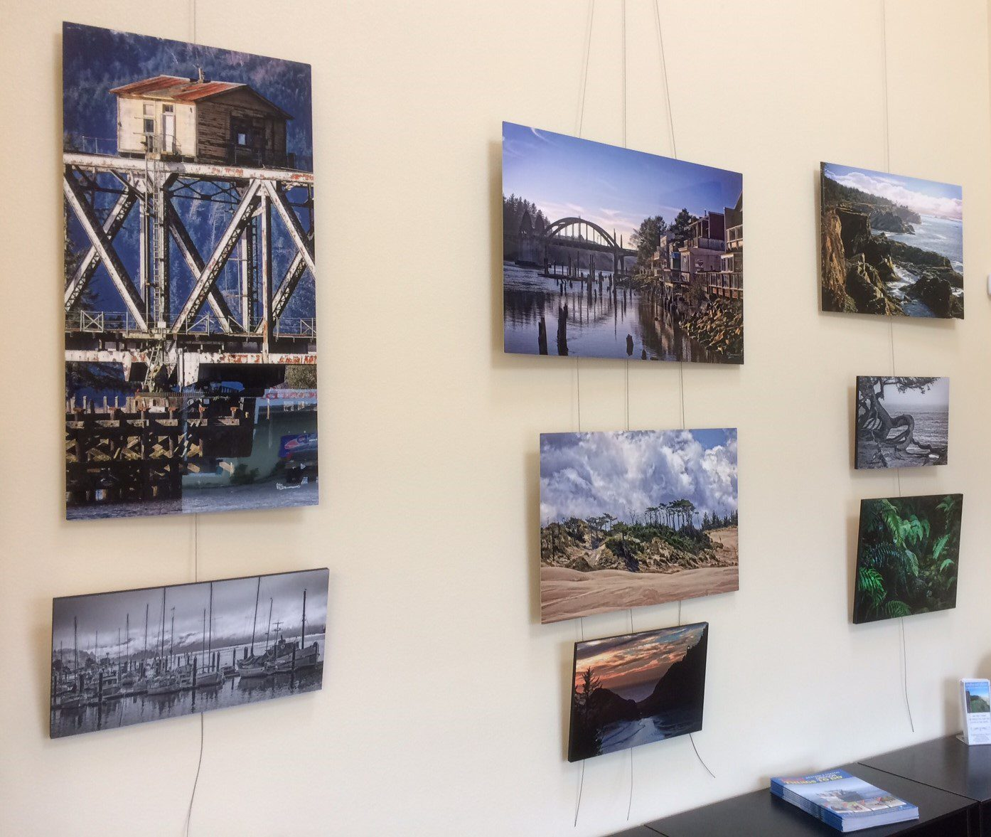 ARTISTIC PHOTOGRAPHY OF RODGER BENNETT ON DISPLAY AT CHAMBER'S VISITOR CENTER IN NOVEMBER